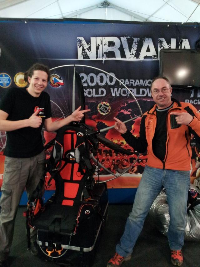 Pavel und ich