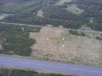 Unsere Pylonen auf dem Militärflugplatz