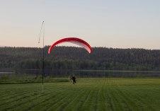 Peters Landung auf Björns Feld