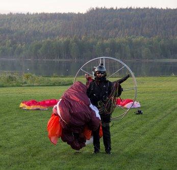 Nach meiner Landung auf Björns Feld