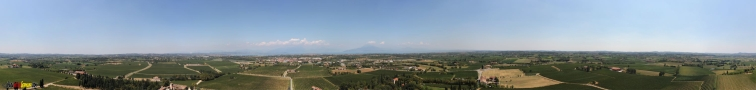 Panoramaausblick vom Turm