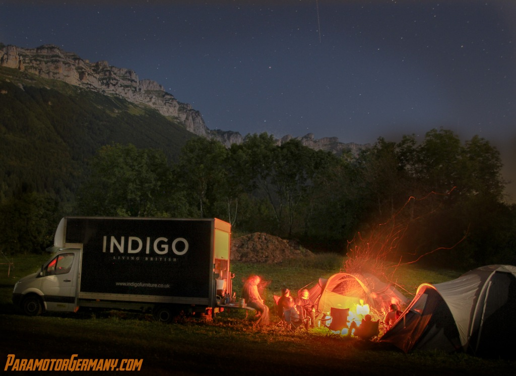 Indigo @ night
