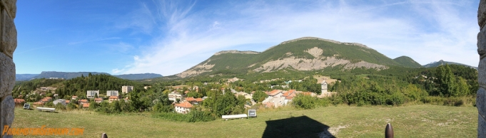 View from the Monument in the Village