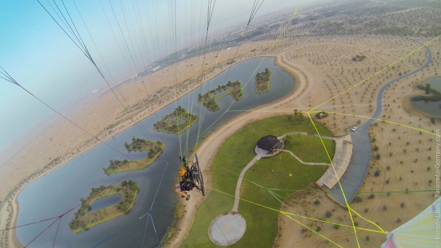 Me over the Dubai lake