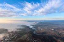 Das Murrtal im Nebel