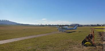 Flugplatz EDSH in Backnang-Heiningen