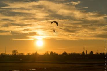 Im Landeanflug auf den Flugplatz EDSH Backnang-Heiningen